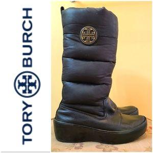 Tory Burch Snow Puffer Boots 👢